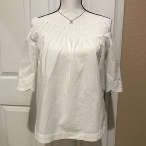 New York & Co -Off the shoulder top 3/4 sleeves